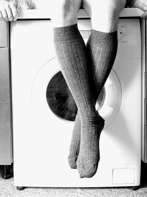 knee length socks